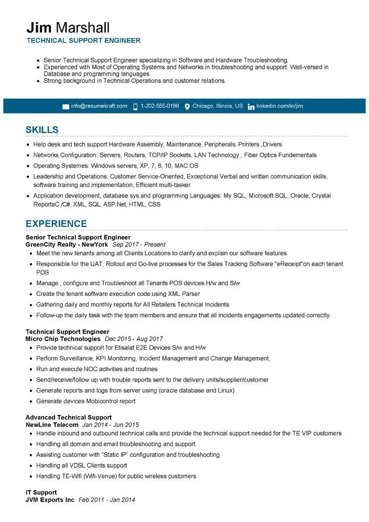100 Professional Resume Samples For 2020 Resumekraft Job Resume Examples Best Resume Format Professional Resume Samples