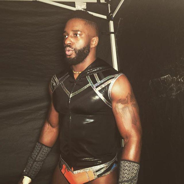 @cedricalexander1 represents his hometown of Charlotte, NC! #WWE #Raw