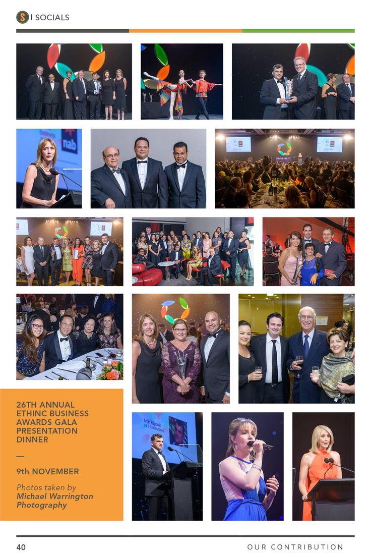26th Annual Ethnic Business Awards Gala Presentation Dinner. SIBW Issue#3.