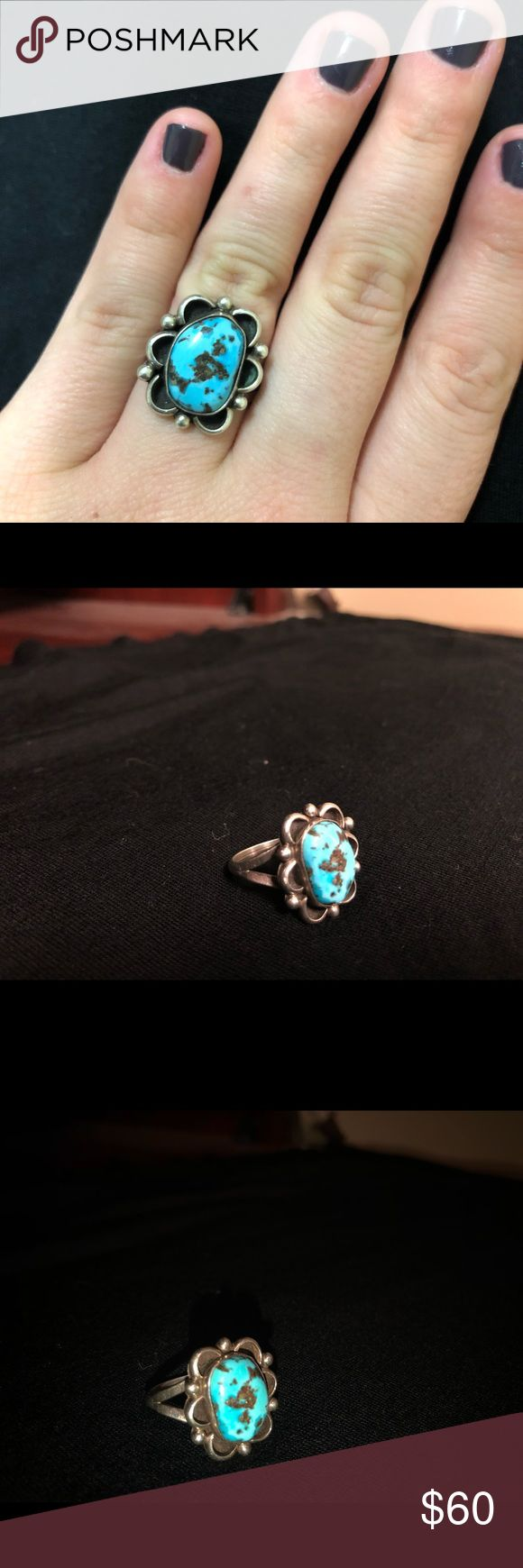 Turquoise Ring Old pawn Jewelry Rings