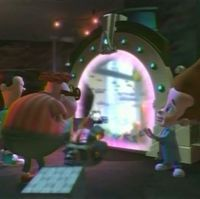 The Chrono Arch is one of Jimmy's time travel related inventions. It is a time machine which...