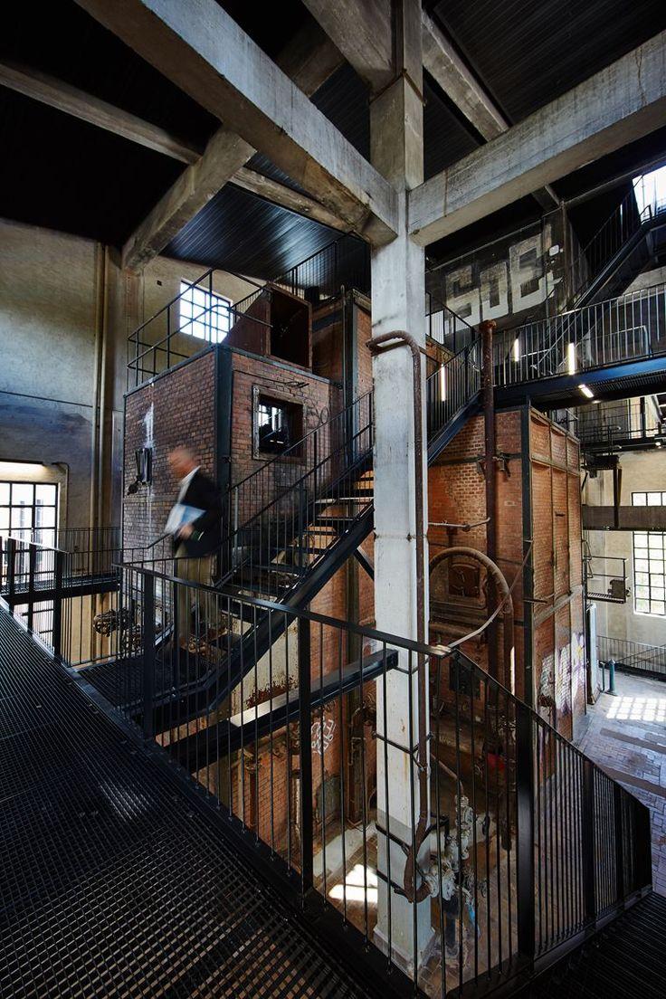 The Boiler Central - Picture gallery #architecture #interiordesign #bricks