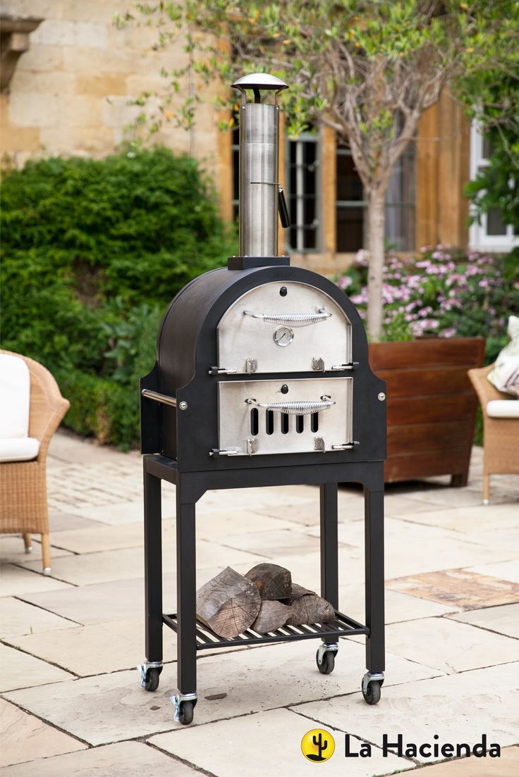 The San Carlos wood fired #outdoor oven - perfect with @cambshotlogs for #cooking #pizza and BBQing #food in your own #garden