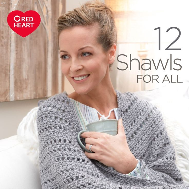 12 Shawls For All Free Crochet and Knit Lookbook -- Whether you need to bundle up against cold weather, or work in a chilly office, we've got you covered in this collection. We've hand-selected 12 of our favorite keep-warm patterns to give you plenty of stylish options. Shawls, ponchos and wraps are great for layering, and are fun to make.