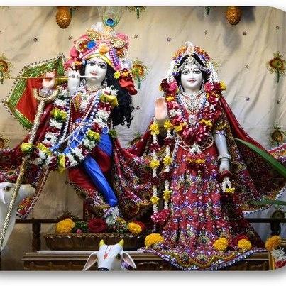 Sri Sri Radha Kunjbihari @ISKCONPune (06-02-13)