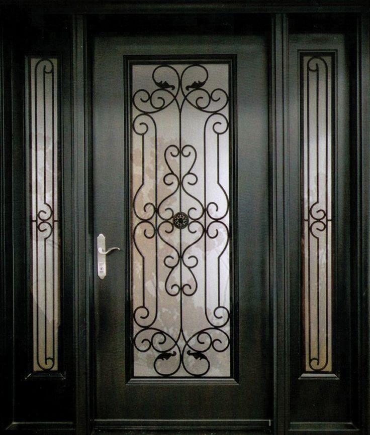 Best 25+ Wrought iron doors ideas on Pinterest   Iron ...