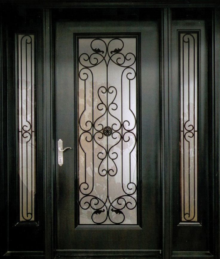 25 Best Ideas About Wrought Iron Doors On Pinterest