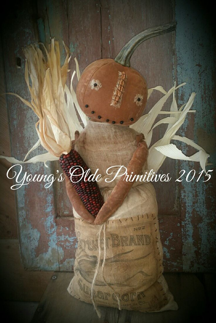 725 best Autumn Primitives images on Pinterest Primitive autumn - Primitive Halloween Decor
