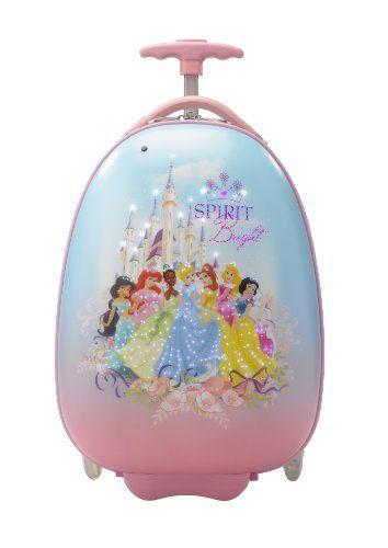 NUR SOLANGE DER VORRAT REICHT ... EINMALIGES ANGEBOT ... 200 Euro SPAREN ... PREMIUM DESIGNER Hartschalen Koffer - Heys Disney LED Princess - toll f�r Kinder - 2 Jahre Heys Garantie