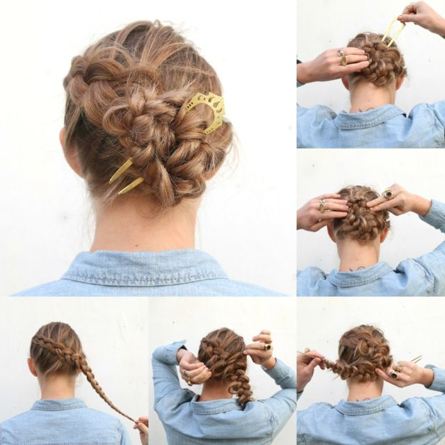 Oktoberfest Hairstyles For Dirndl 27 Instructions Hair Selbstgemachte Frisuren Ballett Frisuren Oktoberfest Frisur