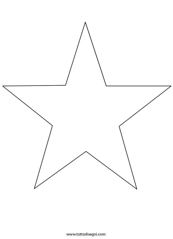 star template ms - Star Coloring Pages
