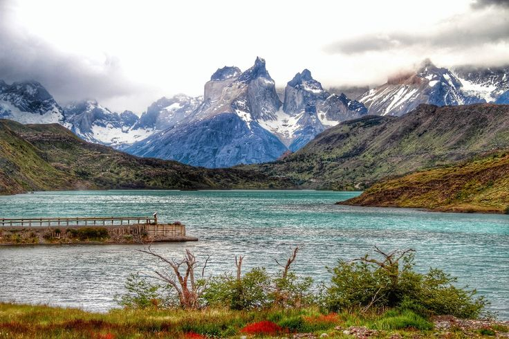HDR Travel Pictures: Los cuernos del Paine