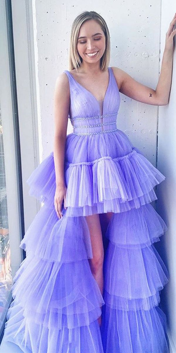 Pin by Diana Vo on Vestidos | Prom dresses, Tulle prom