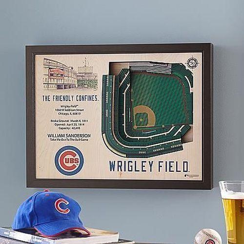 Mlb Stadium Wall Art | Chicago Gifts