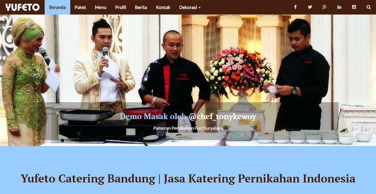 Catering Pernikahan Bandung - yufeto.com WordPress Theme