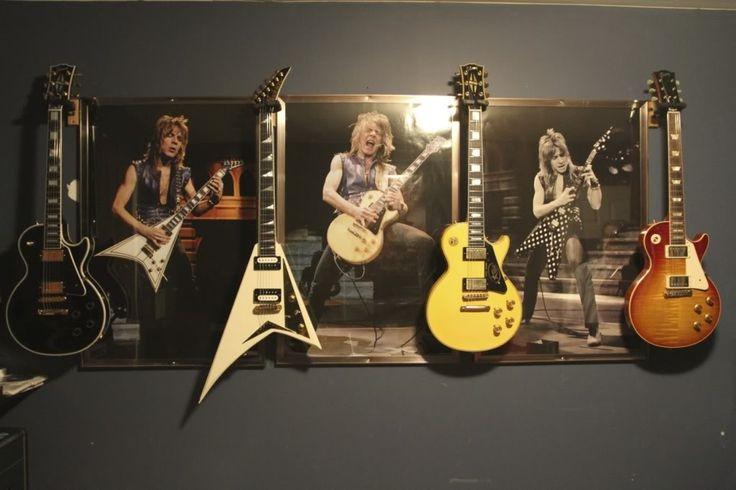 Life long dream guitar room :)