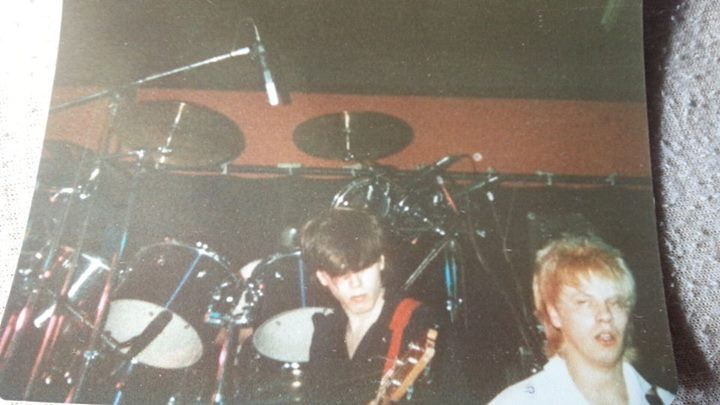 DD aston uni 1981 before planet earth single came out. — pic by Joson Merrett