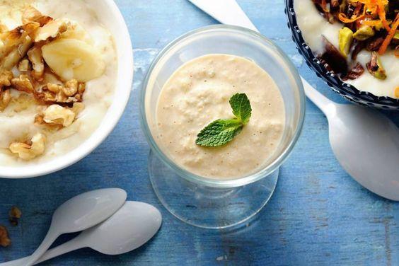 Een fijne ontbijt smoothie, maar meenemen als lunch kan natuurlijk ook!- Recept - Allerhande