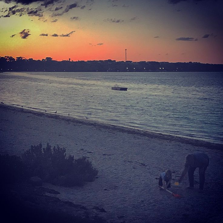 Great weekend away down the magnificent Yorke Peninsula. So many great memories there of dad. Noah loved his first time there and had great fun with his grandma. #stansbury #yorkes #yorkepeninsula #NoahMcInerney #legends #sunset #beach #pontoon #crabs #crabbing #blueswimmercrab #crabraking
