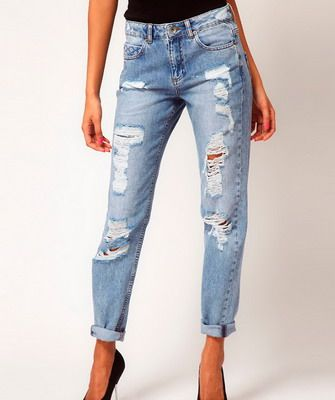 The most stylish and fashionable women's jeans 2014