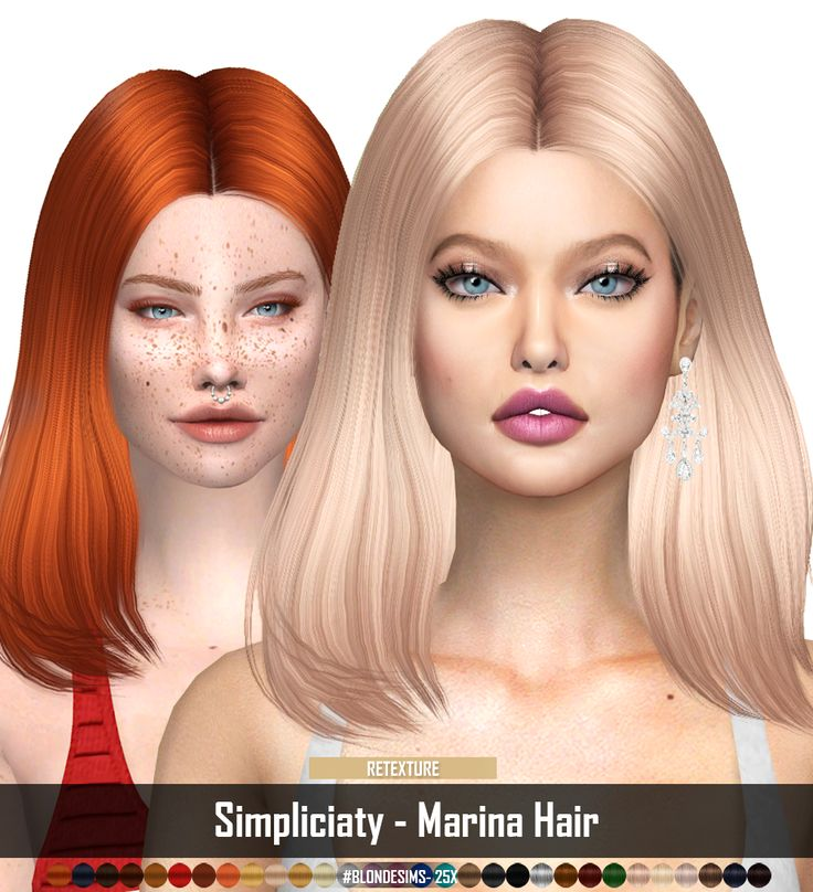 Sims 4 Hairstyles: I Am LOVIN This RECOLOR Of Simpliciaty Hair BY