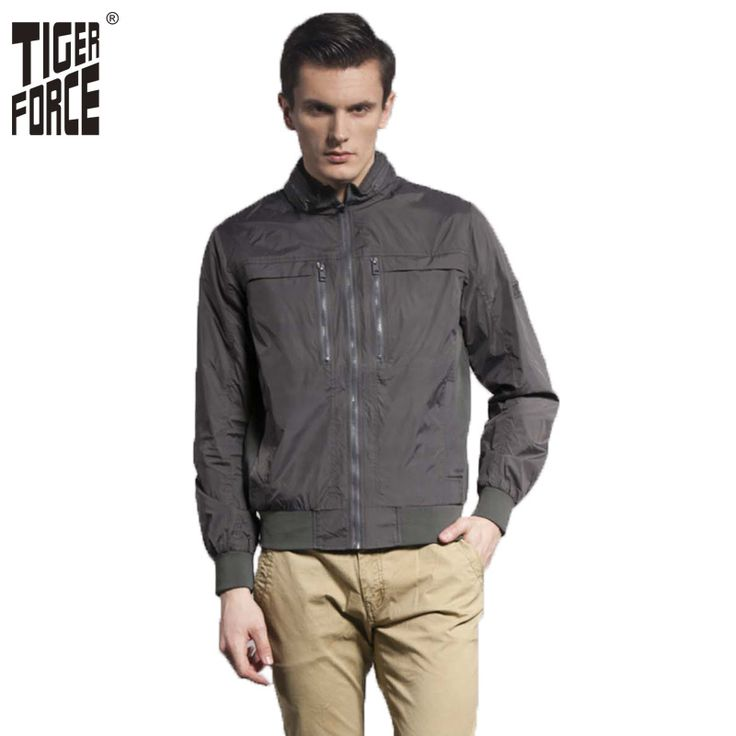 Find More Jackets Information about TIGER FORCE 2016 European Size Men Fashion Spring Jacket Casual Jacket Coat Short Black Stand collar Free Shipping 3629,High Quality zipper factory,China zipper patent Suppliers, Cheap polyester spun yarn china from TIGER FORCE on Aliexpress.com