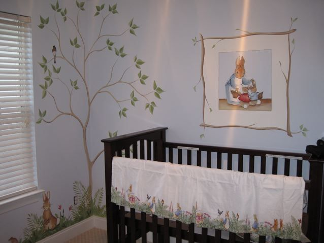 Peter Rabbit Murals Google Search Nursery Pinterest And