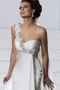 Casual satin wedding dresses Miami | The Wedding Specialists