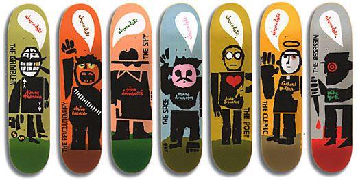 Evan Hecox Chocolate Skateboards Mystery Series   Flickr - Photo Sharing!
