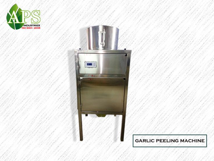 Capacity:.50/100/150/200 kg/hr • Dimension:L700 x W700 x H1600 mm Motor Power:4KW • Weight:175kg • Approximate Material: Internal made by stainless steel • Power Source:220/380 ACV Or according customers supply source • Require Air Pressure:8~9 kg/CFM 45 • Computerize control panel • Completely automatic dry-peeling operation • Energy saving unit • Automatic temperature control and in feed device • No damage to garlic clove • Guarantee: 1year