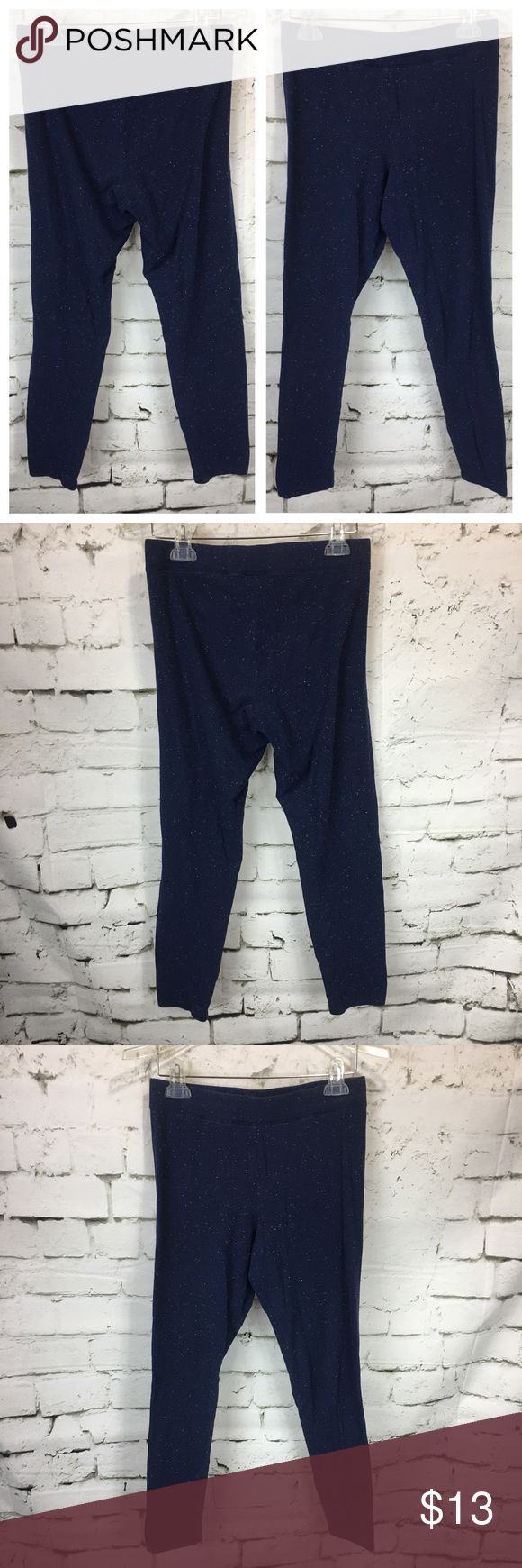 """Victorias Secret PINK Leggings Galaxy Blue Yoga Victorias Secret PINK Leggings Galaxy Blue Size L Athletic Yoga Pants Athleisure Dark Blue with speckled pattern fabric Nice Pre-Owned Condition, No Stains, No Holes  *Measurements are taken with garments laid flat and unstretched, please compare to your own garments for best fit*  Waist: 14.5"""" across Rise: 11"""" Inseam: 27""""  P-O PINK Victoria's Secret Pants Leggings"""