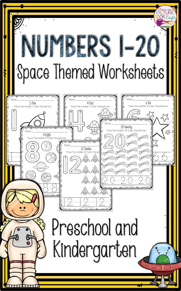 Space Themed Worksheets Preschool Space Crafts Space Theme Preschool [ 1152 x 720 Pixel ]