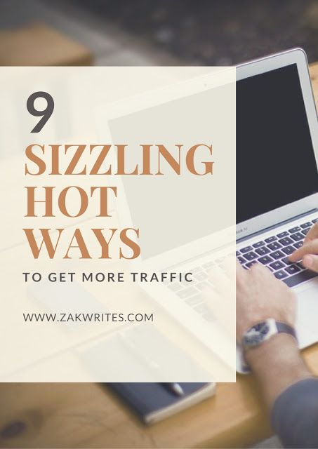 More traffic translates into more subscribers, more money and more growth. If you are extremely serious about blogging and view it as more than a way to pass time, you should 100% be searching for new and effective ways of increasing the number of visitors that land on your page.