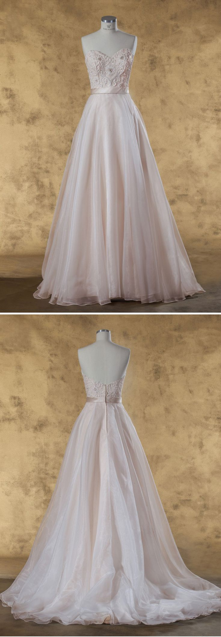 129 best Exklusive Brautmode images on Pinterest   Robe bridée ...