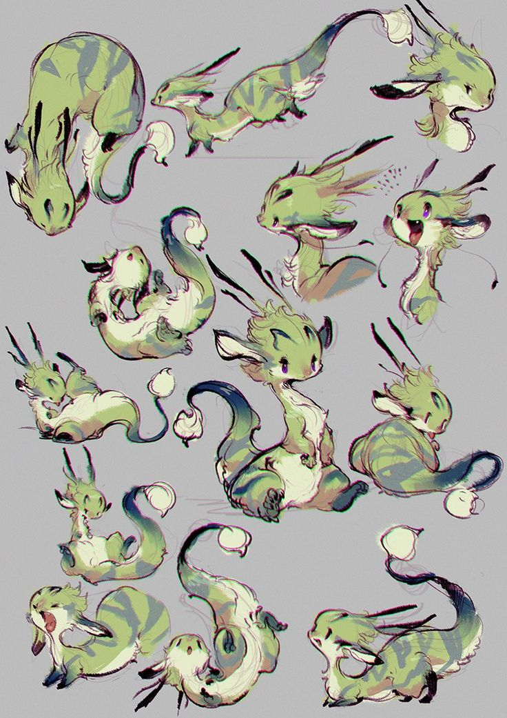 ФАУНА| Фентези существа. – 91 фотография