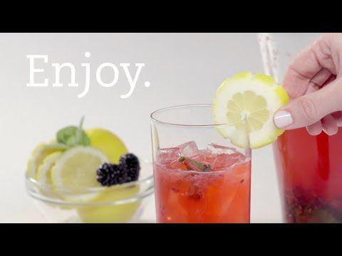 Inside Chick-fil-A - Recipe: Sparkling Blackberry Mint Lemonade