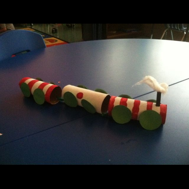 Our trains for polar express day =) craft?