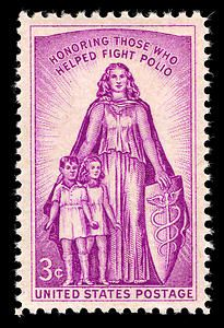 Stamp US 1957 - Jonas Salk - Wikipedia, the free encyclopedia