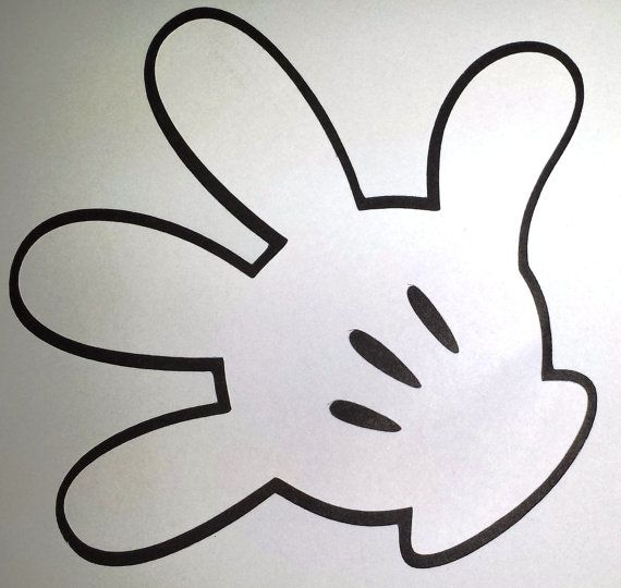Gorgeous image regarding mickey mouse hands printable