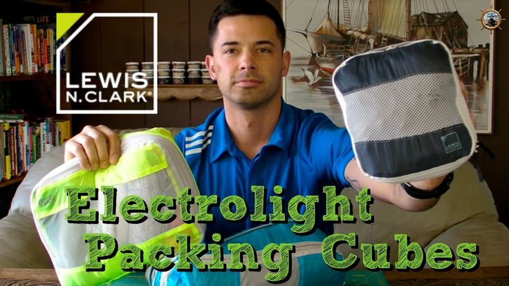 Lewis N Clark ELECTROLIGHT Expandable Packing Cubes