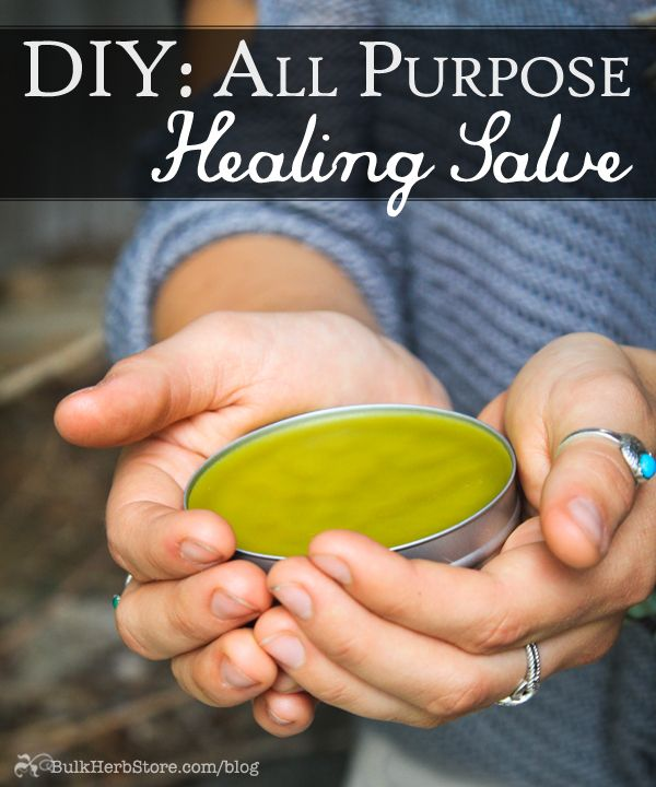 Herbal First Aid: Managing Wounds With An All Purpose Healing Salve - Bulk Herb Store Blog