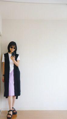 #ロングジレ #着やせ #少ない服 #ミニマリスト #着こなし #着回し #シンプルファッション #アラフォーファッション #大人カジュアル #minimalist #outfit  #simple  着回しコーデ(15着)#minimalist #outfit  #simple