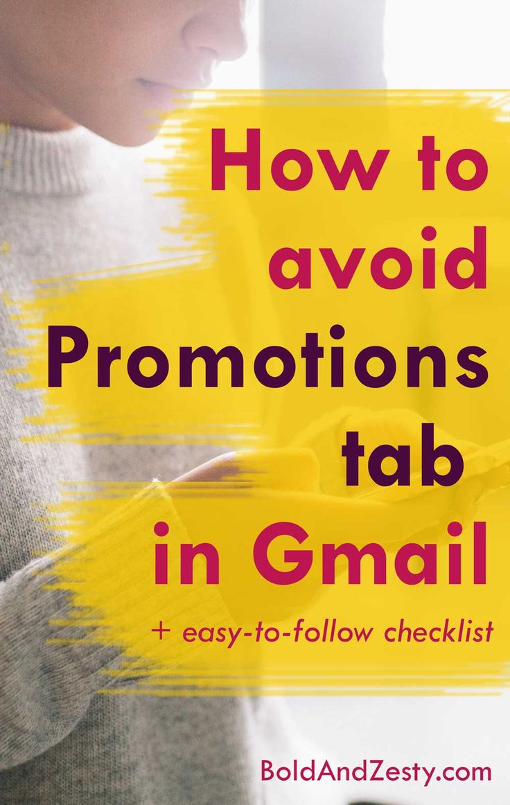 """Wondering how to avoid Promotions tab in Gmail when sending out email campaigns and newsletters? There are specific things you can do to """"game"""" Google algorithm, but should that be the goal?"""