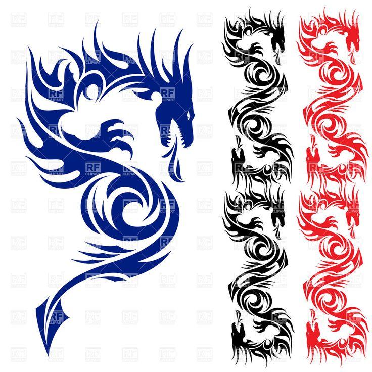 25+ Unique Asian Dragon Tattoo Ideas On Pinterest