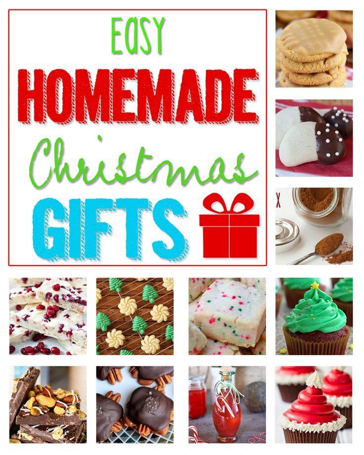 Easy Homemade Christmas Gifts on kleinworthco.com
