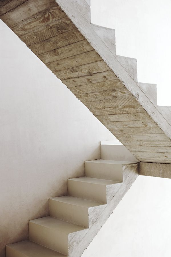concrete + wood: