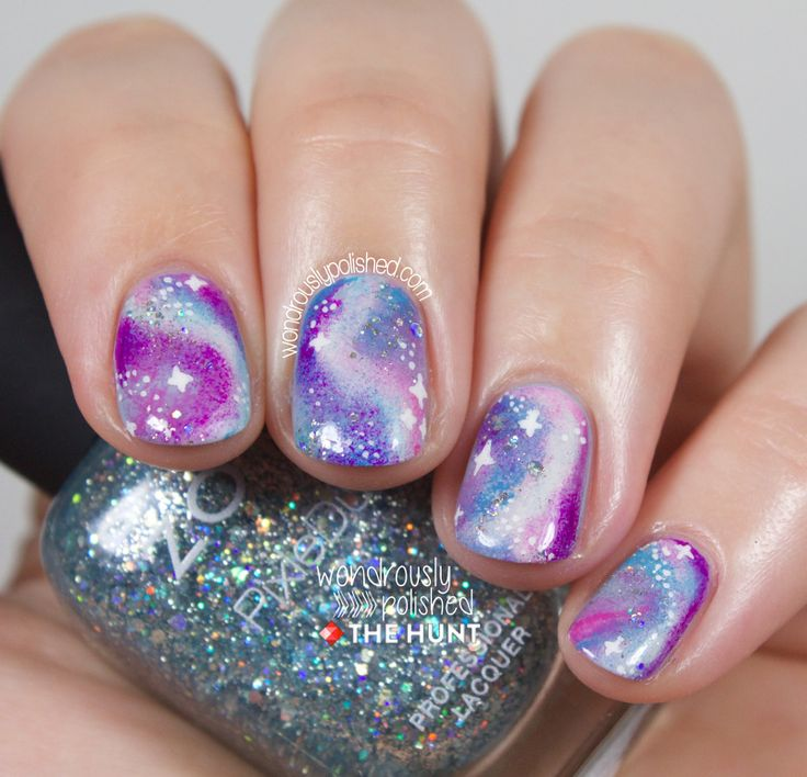 Mani Monday - The Hunt: Pastel Galaxies - Wondrously Polished
