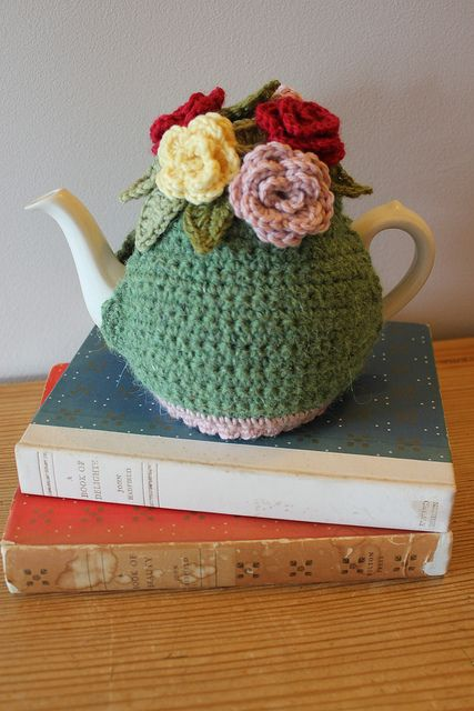 Crochet Tea Cosy by Tea at Weasel's, via Flickr