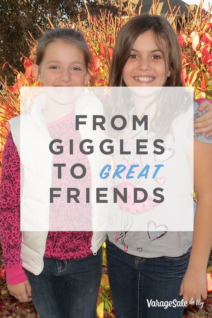 We introduce you to one lucky little girl named Bridget. Lucky her mom joined VarageSale because she's made a BFF for life! After we heard about Bridget (9) and Lizzie (8), we wanted to learn how they met and why they became such good friends. So we chatted with Bridget's mom, Eileen, to find out how their friendship blossomed. Read their adorable story!