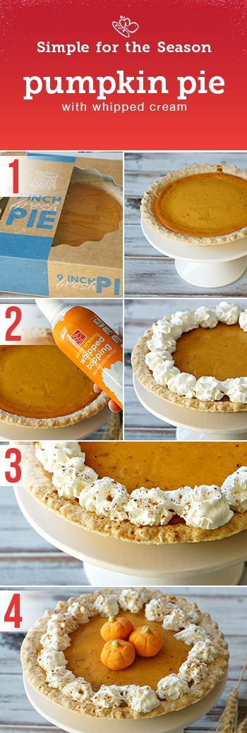 Complete your holiday dinner with a flavorful ending. Check out this simple Pumpkin Pie recipe.